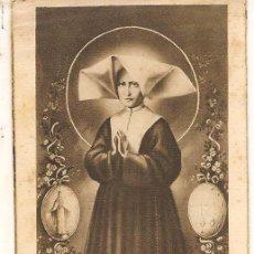 Postales: ESTAMPA RELIGIOSA: SANTA CATALINA LABOURÉ. (C/A52). Lote 90464274