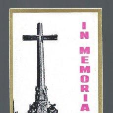 Postales: LOTE DE 11 RECORDATORIOS DE LA MUERTE DE FRANCISCO FRANCO CAUDILLO DE ESPAÑA.. Lote 91693400