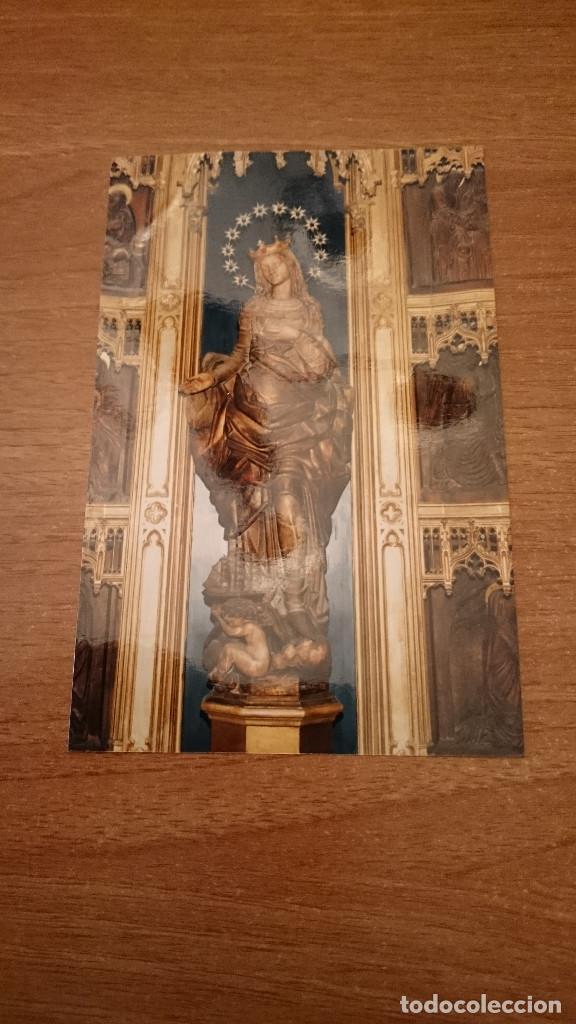 FOTO POSTAL VIRGEN (Postales - Postales Temáticas - Religiosas y Recordatorios)