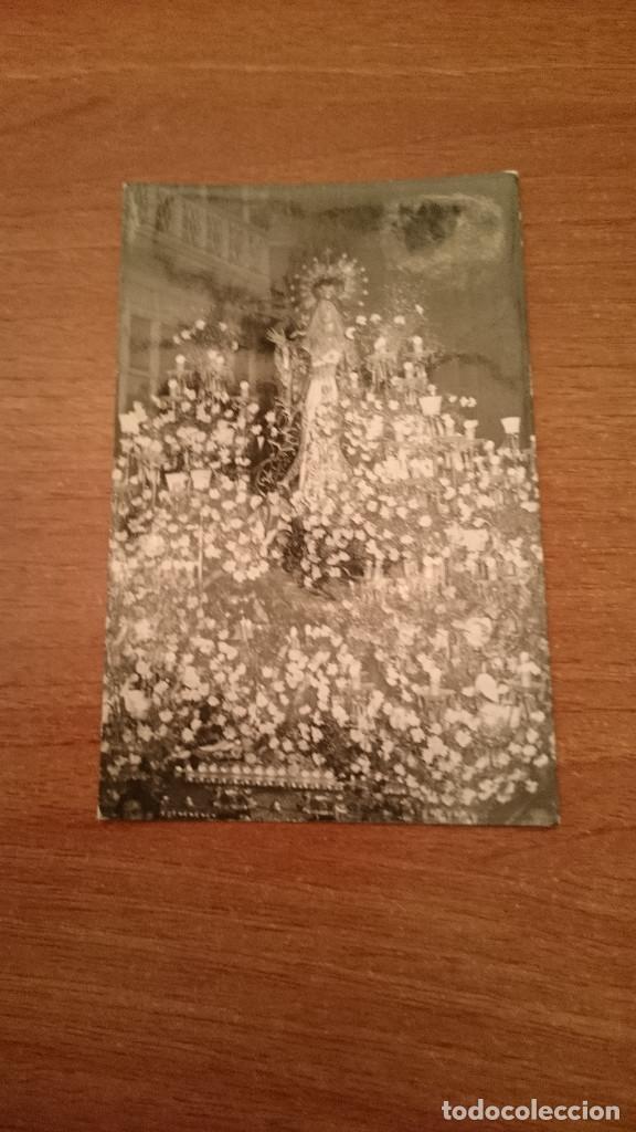 FOTO POSTAL VIRGEN FOTO CASAU CARTAGENA (Postales - Postales Temáticas - Religiosas y Recordatorios)