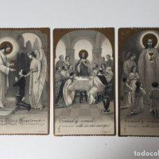 Postales: BONITO RECORDATORIO, RECUERDO PRIMERA COMUNIÓN (1916-1917). Lote 93032270