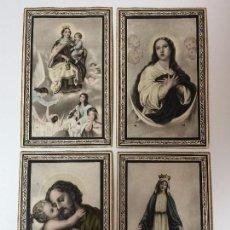 Postales: ESTAMPAS RELIGIOSAS EN CARTÓN SIGLO XIX. Lote 93032665