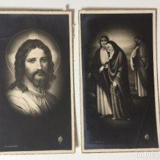 Postales: BONITO LOTE DE ESTAMPAS RELIGIOSAS (SIGLO XIX). Lote 93035680