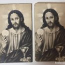 Postales: LOTE DE 2 ESTAMPAS RELIGIOSAS (1940/1941). Lote 93036085