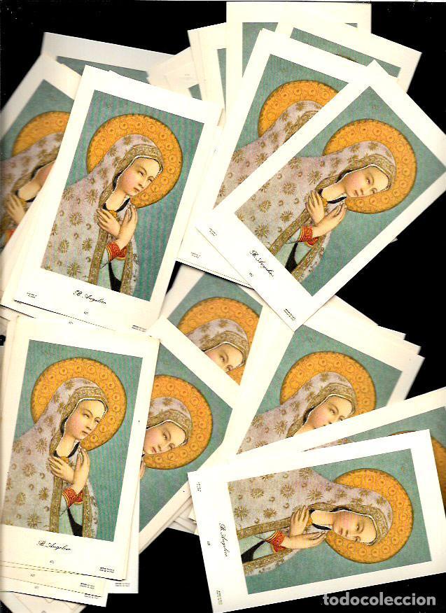 50 ESTAMPAS * B. ANGELICO * (Postales - Postales Temáticas - Religiosas y Recordatorios)