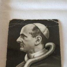 Postales: 14-ANTIGUA ESTAMPA RELIGIOSA, S. S. PABLO VI, . Lote 93302290