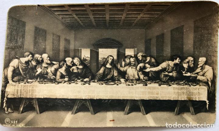 Antigua Estampa De La última Cena De Da Vinci Sold Through Direct Sale 93690205