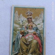 Postales: CONGREGACION DE LAS HIJAS DE MARIA, HUERCAL OVERA, 1910, NTRA. SRA. DE MONSERRAT. Lote 278754523