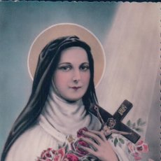 Postales: POSTAL SANTA TERESA DE JESUS - CALVADOS - LISIEUX. Lote 93929340