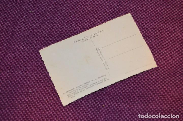 Postales: ANTIGUA POSTAL SIN CIRCULAR DE NUESTRA SEÑORA DE FUENCISLA, PATRONA CIUDAD DE SEGOVIA - MUY ANTIGUA - Foto 2 - 94179165