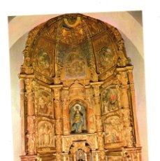 Postales: POSTAL -RELIGIÓN- GORDALIZA DEL PINO - IGLESIA PARROQUIAL - RETABLO DE LA CAPILLA MAYOR- LEÓN - 1978. Lote 95498091