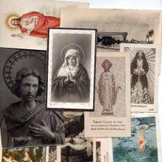 Postales: LOTE DE ESTAMPITAS RECORDATORIOS RELIGIOSOS. Lote 95764903