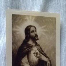 Postales: 31-ESTAMPILLA RELIGIOSA, SAGRADO CORAZON DE JESUS. Lote 96078479