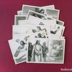 Postales: VIA CRUCIS - 14 POSTALES ORIGINALES DE ÉPOCA POR A. UTRILLO - COLECCION COMPLETA. Lote 96326207