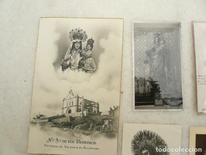 Postales: ESTAMPA. LOTE DE 18 ESTAMPAS MARIANAS .ANTIGUAS Y MODERNAS - Foto 2 - 96631915