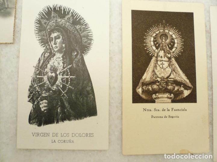Postales: ESTAMPA. LOTE DE 18 ESTAMPAS MARIANAS .ANTIGUAS Y MODERNAS - Foto 6 - 96631915