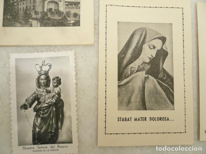 Postales: ESTAMPA. LOTE DE 18 ESTAMPAS MARIANAS .ANTIGUAS Y MODERNAS - Foto 9 - 96631915