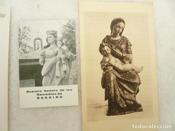 Postales: ESTAMPA. LOTE DE 18 ESTAMPAS MARIANAS .ANTIGUAS Y MODERNAS - Foto 11 - 96631915