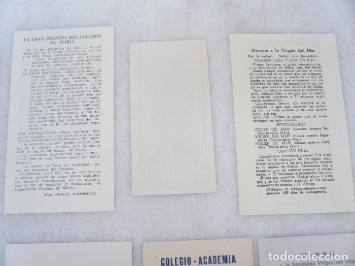 Postales: ESTAMPA. LOTE DE 18 ESTAMPAS MARIANAS .ANTIGUAS Y MODERNAS - Foto 14 - 96631915