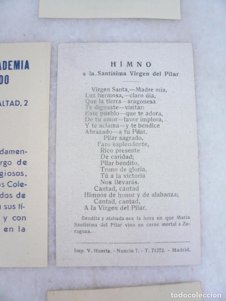 Postales: ESTAMPA. LOTE DE 18 ESTAMPAS MARIANAS .ANTIGUAS Y MODERNAS - Foto 17 - 96631915