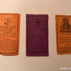 Postales: ORACIONES, PLEGARIAS, RECORDATORIOS... (H.1930?). Lote 97164936