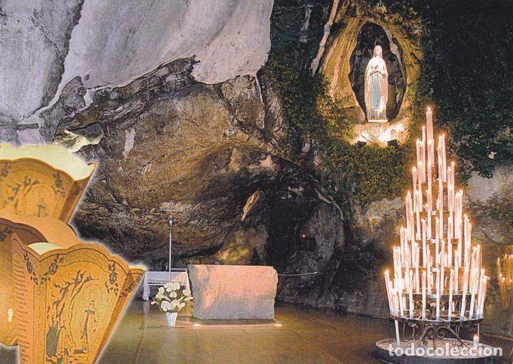 POSTAL GRUTA VIRGEN DE LOURDES (Postales - Postales Temáticas - Religiosas y Recordatorios)