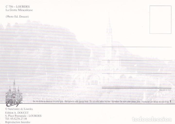 Postales: POSTAL GRUTA VIRGEN DE LOURDES - Foto 2 - 97534507