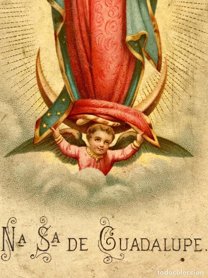 Postales: Postal de Nuestra Señora de Guadalupe - Foto 3 - 97732243