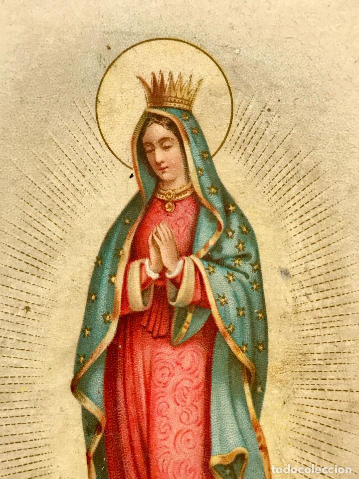 Postales: Postal de Nuestra Señora de Guadalupe - Foto 4 - 97732243