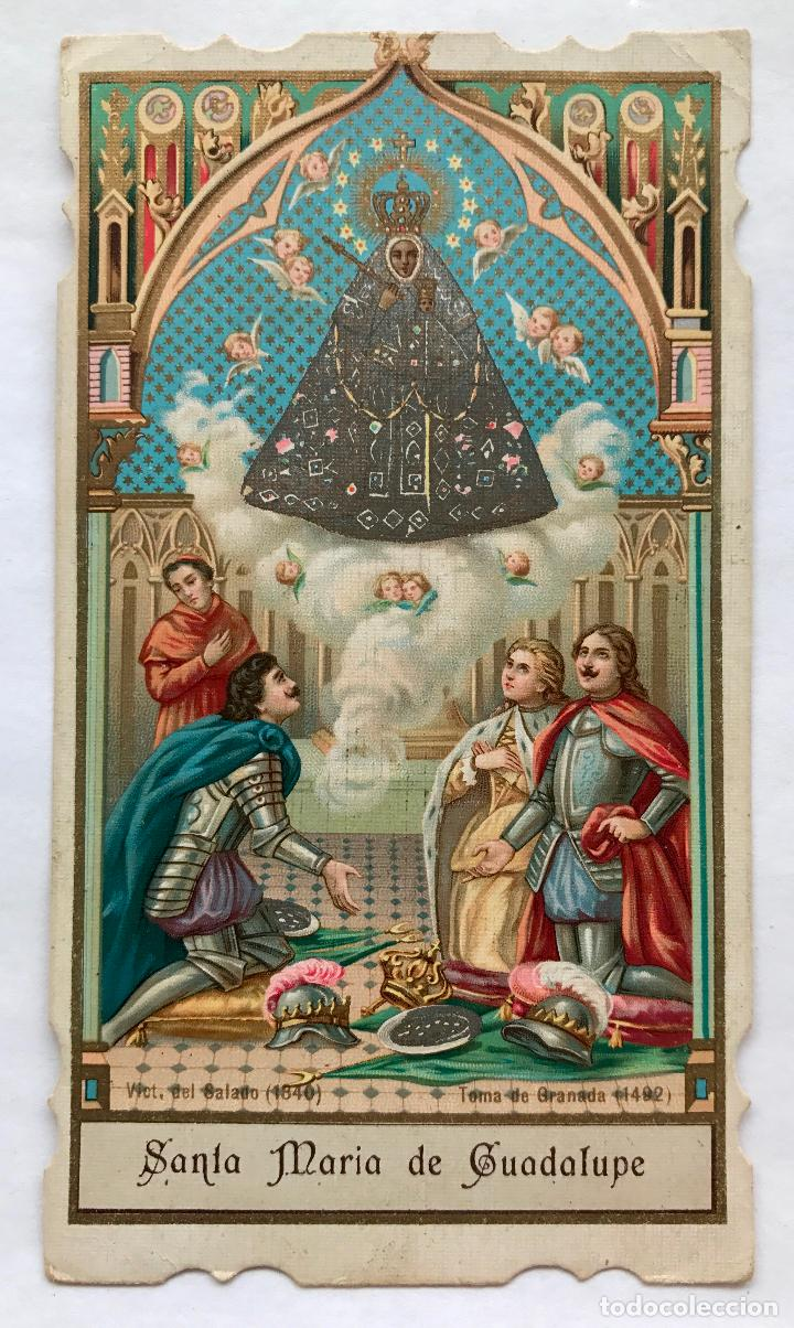 POSTAL DE SANTA MARÍA DE GUADALUPE (Postales - Postales Temáticas - Religiosas y Recordatorios)