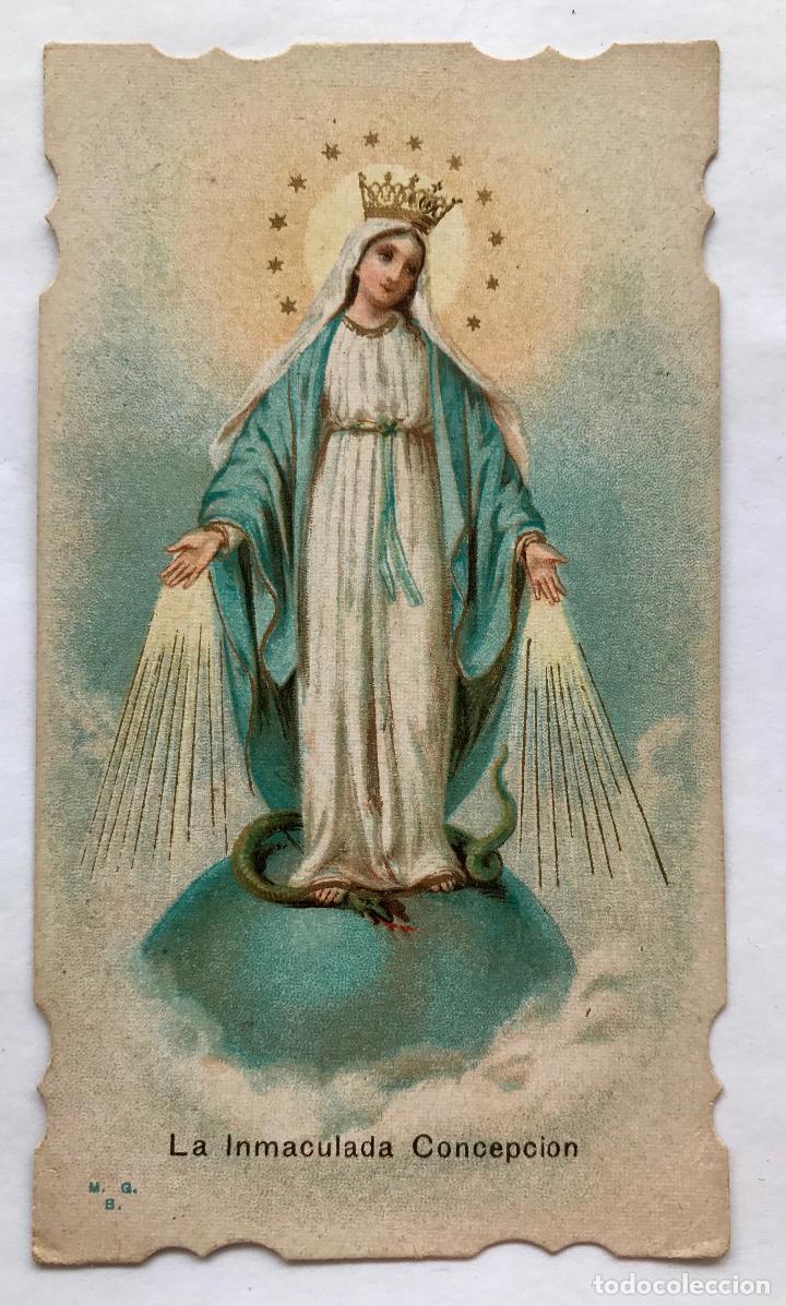 POSTAL DE LA INMACULADA CONCEPCIÓN (Postales - Postales Temáticas - Religiosas y Recordatorios)