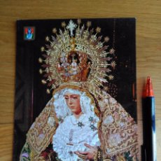 Postales: TARJETA POSTAL ESPERANZA MACARENA SEVILLA - ESCUDO ORO. Lote 97997591