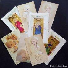 Postales: 0700Y - MARTA RIBAS - LOTE DE 8 RECORDATORIOS. Lote 98069639