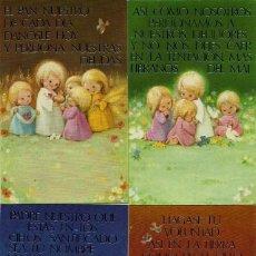 Postales: 0701Y - MARTA RIBAS - LOTE DE 4 RECORDATORIOS EDIC.SABADELL ORO 01.07.026.2 - SERIE COMPLETA- 1. Lote 98069847