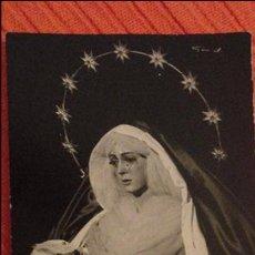 Postales: RECUERDO COMUNION GENERAL.SEPTENARIO.VIRGEN ESPERANZA MACARENA.SEVILLA.1962. Lote 98092691
