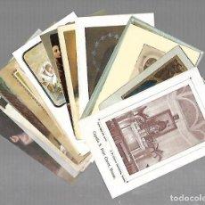Postales: LOTE DE 25 TARJETAS RELIGIOSAS. VARIAS IMAGENES. VER. Lote 104763647