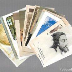 Postales: LOTE DE 25 TARJETAS RELIGIOSAS. VARIAS IMAGENES. VER. Lote 104763738
