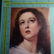 Postales: RECORDATORIO RELIGIOSO SEMANA SANTA. AÑO 1977. PARROQUIA DEL SAGRARIO, MÁLAGA. 1056. Lote 98247495