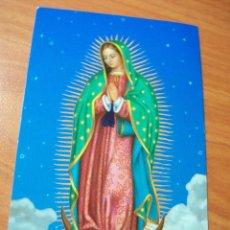 Postales: ESTAMPA VIRGEN DE GUADALUPE. ORACIÓN . Lote 98422863