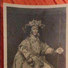 Postales: RECUERDO COMUNION GENERAL.IGLESIA SAN MARTIN.DIVINA PASTORA.SEVILLA.1942. Lote 98816487