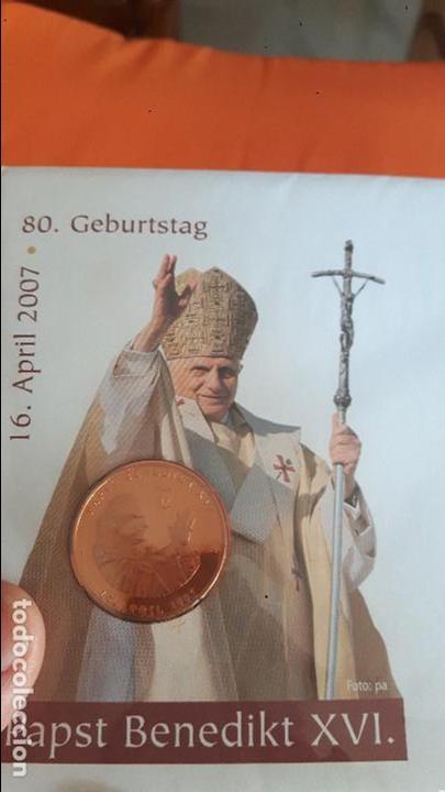 Postales: Lote Postal :Deutsche Post 2007, con medalla Benedictino XVI y otros - Foto 8 - 99089079