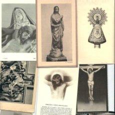 Postales: LOTEDE - 225 -RECORDATORIOS FUNEBRES DE LOS AÑOS 30 AL 70. Lote 99234971