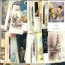 Postales: LOTEDE - 100 -RECORDATORIOS DE 1ª COMUNION LOS AÑOS 30 AL 70. Lote 99236267