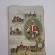 Postales: ESTAMPA AÑO SANTO 1949-1950 - RECUERDO EJERCICIOS ASILO CRECHE - VEDADO - CUBA 1950. Lote 99269563