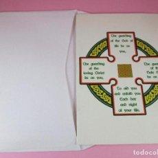 Postales: POSTAL-RELIGIOSA-UK-EN INGLÉS-SOBRE-SIN CIRCULAR-VER FOTOS.. Lote 100101695