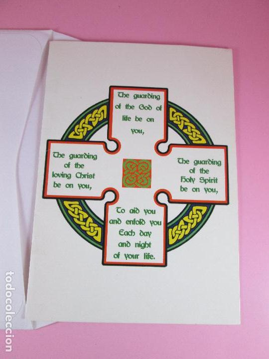 Postales: postal-religiosa-uk-en inglés-sobre-sin circular-ver fotos. - Foto 3 - 100101695