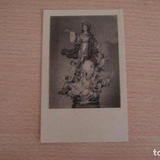 Postales: ESTAMPA ESTAMPITA IMAGEN NUESTRA SEÑORA DE LA ASUNCIÓN 1960. Lote 100454831