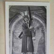 Postales: SEMANA SANTA DE SEVILLA : ESTAMPA NTRO. PADRE JESUS DEL GRAN PODER. RECUERDO SANTA MISION, 1965. Lote 143537250