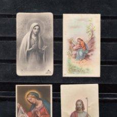 Postales: 4 RECORDATORIOS PRIMERA COMUNIÓN. Lote 101591391
