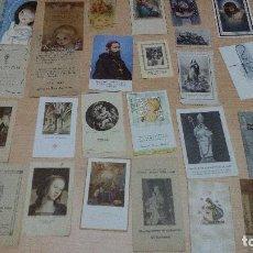 Postales: LOTE 34 ESTAMPITAS Y RECORDATORIOS. Lote 101772403